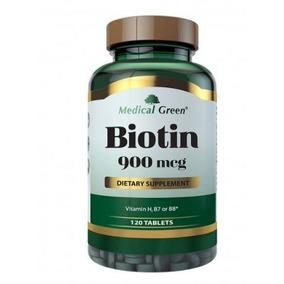 Suplemento Biotina 120 Cápsulas