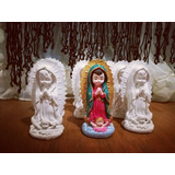 Figura De Virgencita De Guadalupe De Yeso Lista Para Pintar