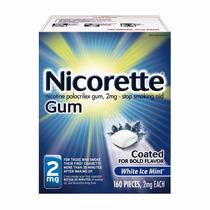 Nicorette Gum Menta Fresca Ayuda A Dejar De Fumar 2 Mg