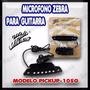 Micrófono Zebra Pickup 105g Pra Guitarra
