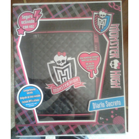 Diario Electronico Secreto Monster High