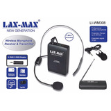 Micrófonos Inalámbricos Lax-max Li-wm308 Diadema Y Solapa