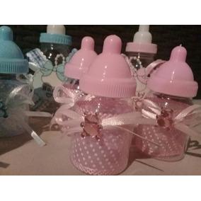 Mamadera Mini Souvenir Baby Shower,nacimiento Super Precio!!