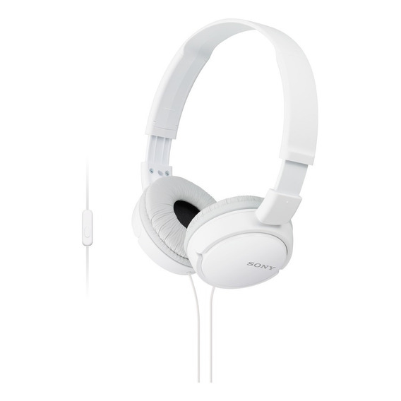 Auriculares 3.5 Mm Sony Plegables Super Bass Mdr-zx110ap