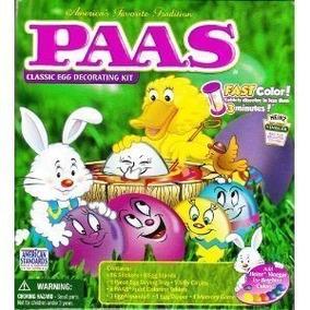 Paas Kit De Decoración Para Huevos, Medio