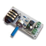 Preamplificador Para Micrófono Con Volumen - Audioproject