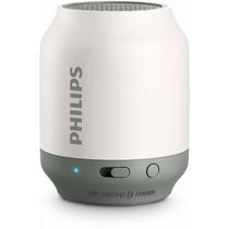 Caixa De Som Speaker Philips Bt-50w/l Com Bluetooth