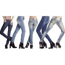 Kit Calça Jeans Feminina Atacado - Lote Com 5 Unidades