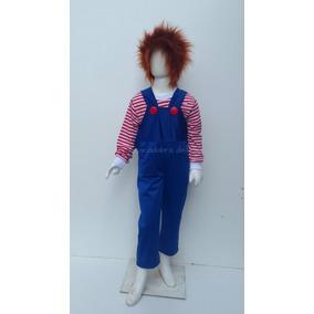 Disfraz Tipo Chucky Calavera Pirata Muñeco Diaboli Halloween