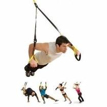 Cuerda Suspension Tipo Trx Crossfit Inclye Banda Resistencia