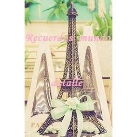 Torre Eiffel Metal Paris Centro De Mesa Decoración Vintage