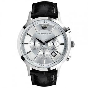 Reloj Emporio Armani Hombre Modelo Ar2432 Negro Plata