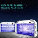 Nuevo 110v 20w/30w Trampa Casa Mosquito Eléctrica Bug Zapper