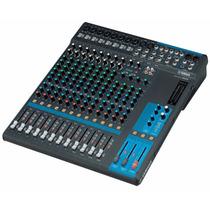 Mesa De Som Analógica Yamaha Mg16 - 16 Canais Loja Oficial