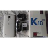 Lg K10 Lte 4g 16gb 13mgpxl & 8mgpxl- Color Blanco