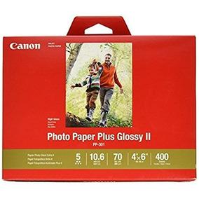Papel Fotografico Canon 5 Estrella 260gr 400 Hoj Postal 4x6