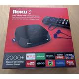 Roku 3 Streaming + Tv Hd Control Remoto Sellado
