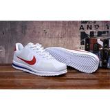 Zapatillas Nike Cortez Ultra Blanco / Rojo Original Stock