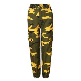 Camo Combate Camuflaje Pantalones Militares De Mujeres Las rwxzqOYrU4