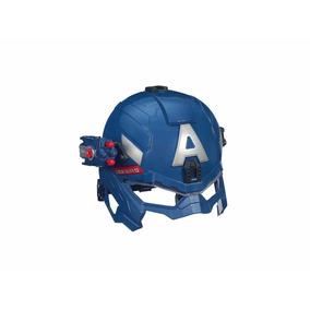 Casco De Capitán América Hasbro