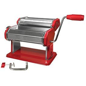 Weston Máquina De Pasta Manual 1524 Cm Rojo