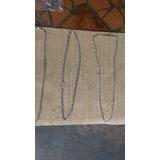 Cadena De Plata Italiana 925 De 29cm Original
