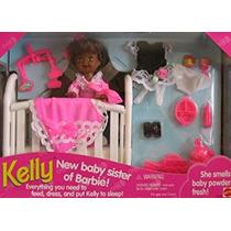 Juguete La Hermana Kelly Aa Muñeca De Nuevo Bebé De Barbie