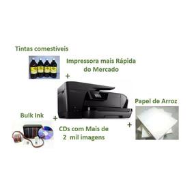 Kit Impressora Hp 7510 - A3 - Para Papel De Arroz