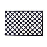 Bacati Mix N Match Large Dots Nylon High Pile Felpa Alfombra