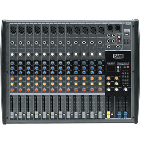 Mixer Mesa De Som 12 Canais Usb/sd Mark Audio Cmx12-usb