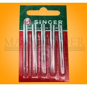 Agulha Industrial Galoneira Singer 3651 Kit C/10 Nº22