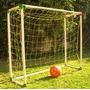 Arco Futbol Infantil 1,5 X 1,25 Metros Plástico Pvc + Red