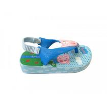 Chinelo Ipanema Peppa Pig Baby 25833 Grendene - Azul/azul