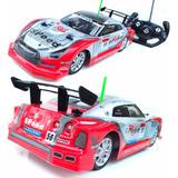 Carrinho De Corrida Turbo Drift Controle Remoto 33cm