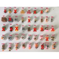 Mini Bonecos Minecraft! Kit 3 Unid! Monte O Seu! 143 Opções!