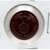 Moneda De Alemania Nazi 1 Reichpfeninig # 2274 Apo