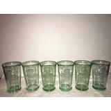 Set De 6 Vasos De Ron Bacardi