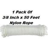 Cuerda De Nylon Trenzado Sólido Trenzado - 1 Rollo De Cue...