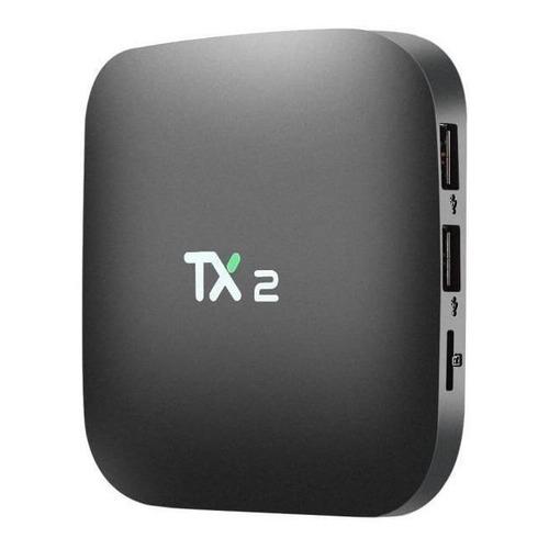 Tv box Youit TX2  padrão 4K 16GB  preto com memória RAM de 2GB