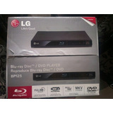 Dvd Blue Ray Lg Modelo Bp125 Full Hd Con Usb Nuevo