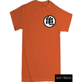 Playera Goku Dragon Ball Z Simbolos