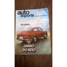 Revista Antiga Auto Esporte Março De 1971 Frete Grátis