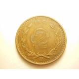 Moneda 2 Centavos Fecha 1941 Cobre
