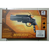 Pistola Hidrogel Y Dardos Revolver-nerf