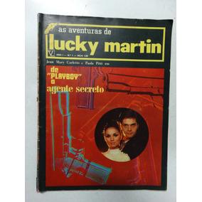 As Aventuras De Lucky Martin Nº 1! Editora Vecchi 1969!