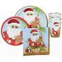 Decoración Casa De Santa Claus En Vacaciones Plate-postre,
