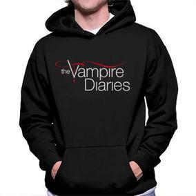 Blusa Moletom The Vampire Diaries Series Unissex Qualidade