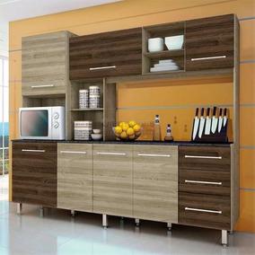 Montagem Cozinha Compacta Orquídea Ii Anis