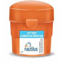Kit Teste Cloreto De Sódio - Sal - Nautilus