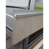 Perfil Tirador J Frente Cuadrado De Aluminio Cocinas Closets